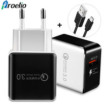 Buy Quick Charge 3.0 2.0 USB Charger Wall Fast Travel Charger Samsung Galaxy S8 iPhone X 7 8 Plus Xiaomi Mi 6 Mi A1 Quick Charge for $2.99 in AliExpress store