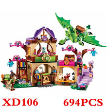 41176 Elves Secret Place Parenting Activity Education Model Building Rus Blocks Girls And Children'S Toys Compatible Lepin XD106