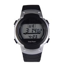 Fashion Solar Watch with Backlight Casual Sport Watches Men Digital Watch Solar Powered Watch reloj solar power
