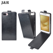 For Asus Zenfone 4 Max Case Flip Leather Back Cover For Asus Zenfone 4 Max ZC554KL 5.5 Inch Vertical Phone Case Accessories