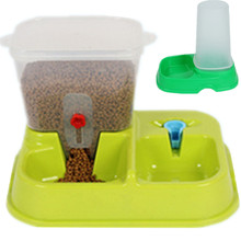 Automatic Water Feeder PP Dog Feeders Pet Feeding Pedal Electric Outdoor Feeder for Pet Dog Cats Food Drinking Bowl High Quality