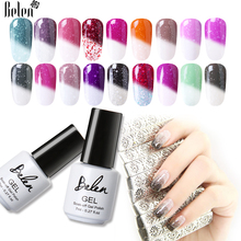 Buy Belen Snowy Thermal Chameleon Gel Polish Temperature Change Color DIY Nail Art Mood Color Changing UV Gel Varnish Lacquer 7ml for $1.31 in AliExpress store
