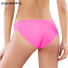 Hot sale Original New Ultra-thin Women Seamless Traceless 2017 New Underwear Women Panties Briefs mi(China)