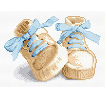 5D diamond embroidery diy diamond Painting baby shoes pictures round Christmas gift diamond picture children home decor(China)