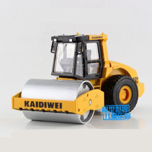 Free Shipping/Diecast Toy Model/1:50 Scale/Single Wheel Roller Truck/Engineering Car/Educational Collection/Gift For Children(China)