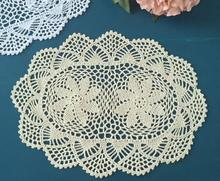 HOT Round Cotton Crochet tablecloth white tea handmade Table cloth towel lace manteles dining Table Cover Garden wedding decor