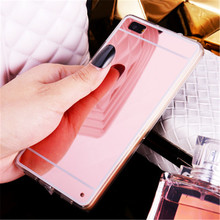 Luxury Mirror Electroplating Soft Clear TPU Cases cover For huawei P8 P8 lite P9 P9 Plus P9 lite G9 for iPhone 7 6 Plus 5s Case(China)