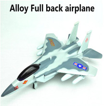 Best sale,F15 plane,1:43 alloy Pull back Airplane model Toy Vehicles , Diecasts Airplanes toys, free shipping