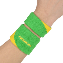 (3pcs/lot)FANGCAN Sport Wrist Support for Basketball/Tennis/Badminton/Volleyball Compose Jacquard Wristband with Embroidery Logo(China)