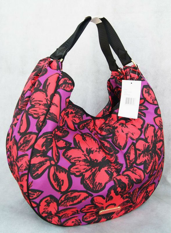 new HOBO Pink POP flowers shoulder bag women handbag<br><br>Aliexpress