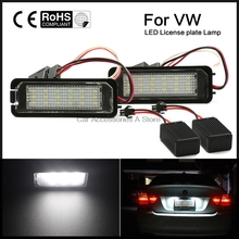 2X Canbus auto light for Golf 5 Golf6 Golf 7 golf led license plate light tail light car styling for VW MK5 GTI Golf7