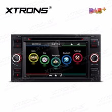 XTRONS 7 inch Car DVD Player 2 din Radio DAB+Canbus GPS Navigation For Ford Focus II C-Max 2005-2007/Galaxy Transit 2006-2008(China)
