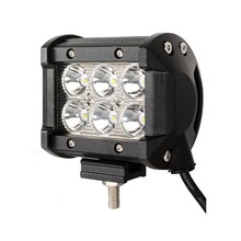 "10Pc 4"" inch 18W LED Work Light Lamp for Motorcycle Tractor Boat Off Road 4X4 Truck SUV ATV Spot 12V 24V(China)"