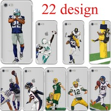 ciciber American Football Odell Beckham Jr Cam Newton Terrific soft silicone phone cases cover for iphone 6 6S 7 8 plus 5S SE X(China)