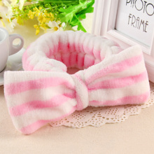 1PC New Fashion Women Elastic Headbands Cotton Soft Dot Striped Hairbands Girls Cute Tie Hair Gums Headwear Hair Accessories