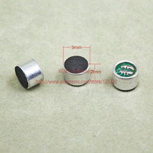 (100pcs/lot)(Acoustic|Microphone) 9*H7MM, Capacitive electret microphone,SMD, pickup sensitivity: 52DB
