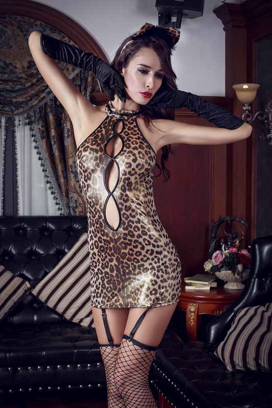 Fantasias Eroticas Sexy Costumes Latex Catsuit Catwoman Women Pole Dance Sexy Sex Toys Dress