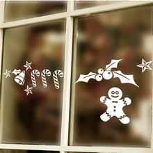 Merry Christmas Wall Stickers Room Covers Decor Diy Vinyl Gift Home Decals Festival Mual Art Poster