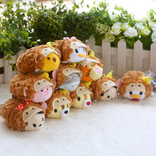 New Arrival Tsum Tsum Plush toy doll toys Cute doll Tsum tsum mini doll toy keychain for Christmas gifts
