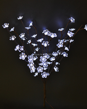 "LED Electric Type  Acrylic Flower Branch Light 20"" 60LED  AA Standard  Acrylic Flower Decoration Branch Light with 3V DC Adaptor"