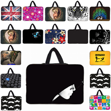 "Neoprene 15"" Laptop Sleeve For Apple Macbook 15.4"" 15.5"" Notebook Computer Stylish Zipper Protect Pouch Cover Bags Mini PC Shell(China)"