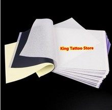 Stencil Tattoo Transfer Paper 100PCS/lot A4 Size Tattoo Thermal Stencil Carbon Copier Paper For Tattoo Transfer Machine