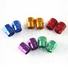 Aluminium Alloy MTB Road Bicycle Accessories Motor Bike Car Valve Mouth Cover Tyre Wheel Rims Stem American Air Valve Dust Cap