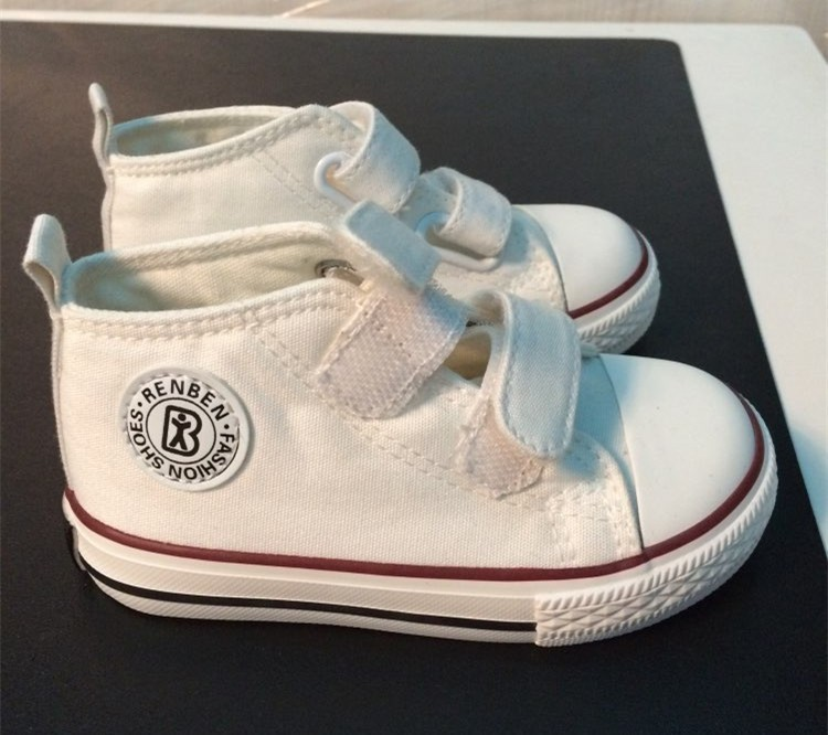 Baby shoes Girl Children Canvas shoes Boys 17 Spring Autumn Fashion High Cotton-made Baby girl little kids shoes 8
