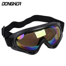 DONGKER Tactical Goggles UV400 Protector Shooting Goggles Cycling Glasses Military Outdoor Eye Wear Paintball Accessories