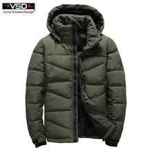 VSD 2017 Winter Mens Fashion White Duck Down Jacket Casual Down Coat Parka Male High Quality Clothing Coats Free Shipping VS7803(China)