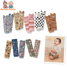 Free shipping  Cute Cartoon Baby Leg warmers For kids Knee Pad Kids leg warmers  Toddler  b1tws1715
