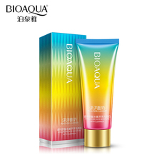BIOAQUA Brand Hyaluronic Acid Pore Cleanser Deep Cleaning Whitening Moisturizer Mild Facial Skin Care Face Washing Product 100g(China)
