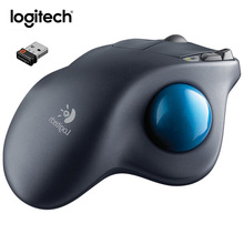 Logitech M570 2.4G Wireless Trackball Mouse Ergonomic Computer Mouse Better Support for Your Hand With Unifying receiver(China)