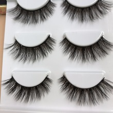 YOKPN 3D False Eyelashes Multi-layer Thick False Eyelashes Handmade Cotton Stems Fake Eyelashes Stage Smoked Makeup Lashes Tool(China)