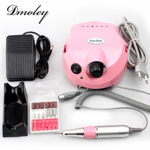 30000 RPM Pro Nail Tools Electric Nail Drill Machine Manicure Drills Accessory Acrylic Nail Drill File Drill Bits Pedicure Kit(China)