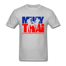 Plus Size Muay Thai Boxing Fight Leisure T Shirt Men's Short Sleeve Cotton Custom Men Tshirt Group Brand Clothing