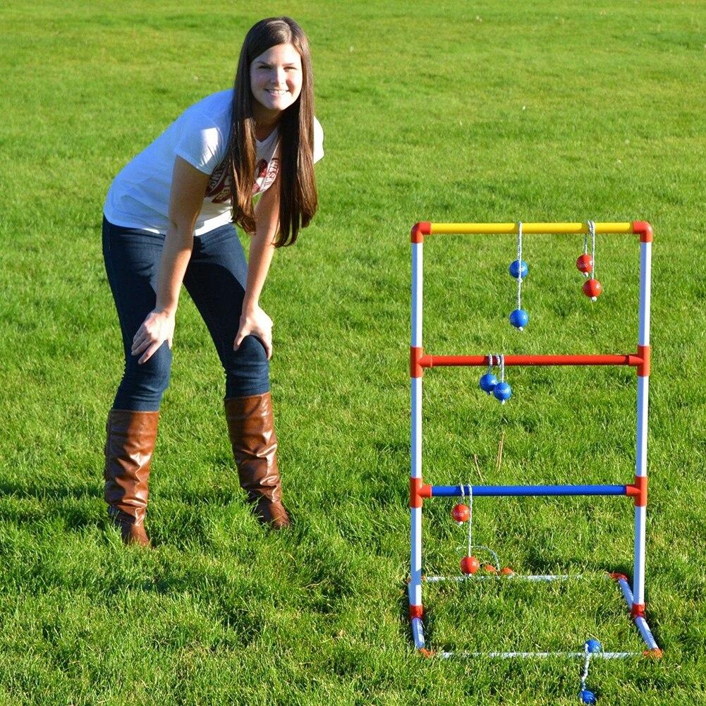 CRESTGOLF Ladder Toss Game with 6 Pair Golf Balls Bolos Ladder Toss Game Set<br><br>Aliexpress
