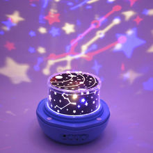 Hot Romantic Fairy Star Projection Lamp Constellation LED Projector Night Light Decoration