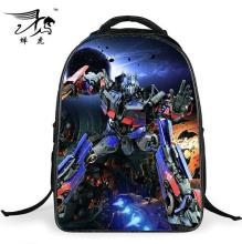 Transformer Backpack Nylon Super Hero Cool Schoolbags for Primary School Students 1-4 Grade Boys Daily Bookbag Birthday Presents