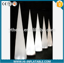 Hot wedding party christmas decoration led lighted inflatable pillar