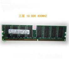 Original 1GB PC3200 DDR 400 400MHz 184Pin DIMM Desktop Low Density MEMORY Module RAM Free Shipping
