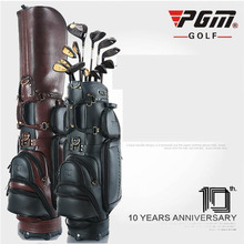 genuine leather golf bag male style high-end personalized custom brand golf standard bag freeshipping(China)