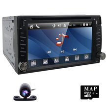 Car dvd player In Dash Stereo MP3 Head Unit CD Camera parking GPS navigator 2 din autoradio Video steering-wheel car multimedia(China)
