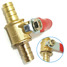"Simple operation 10mm motorized ball valve 1/4"" barb 2 way electrical valve VE496 P"