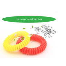 20Pcs Mosquito Repellent Bracelet Natural Plant Oils Pest Control 360 hours Summer Anti Mosquito Individually packaged(China)