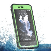 100% Completely Sealed Waterproof Phone PC Hard Case Protective Cover Water Resistant For iPhone 7 Plus from XYZ-link