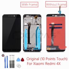 Original For Xiaomi Redmi 4X LCD Display with Frame Screen Touch Panel Redmi 4X LCD Display digitizer Frame Assembly Spare Parts(China)