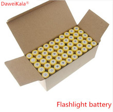 10PCS/set 18650 battery 3.7V 9800mAh rechargeable liion battery for Led flashlight Torch batery litio battery+ Free Shipping