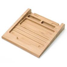 Bamboo Wireless Touchpad Dock Rack Holder Stand Bracket for Apple Macbook Magic Trackpad QJY99