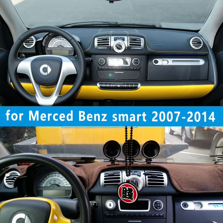 dashmats car-styling accessories dashboard cover Merced-Benz smart Fortwo Cabrio W4541 2007 2008 2010 2011 2012 2013 2014